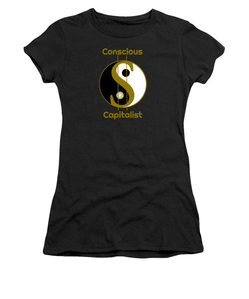 Conscious Capitalist - Women's T-Shirt (Athletic Fit) - Thrive Any Way