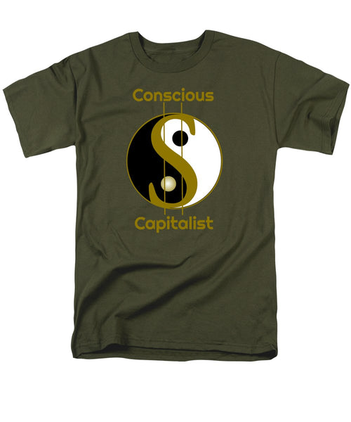 Conscious Capitalist - Men's T-Shirt  (Regular Fit) - Thrive Any Way