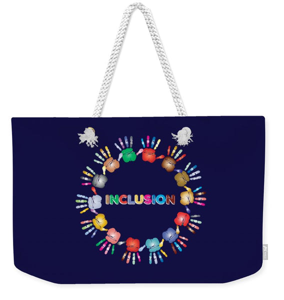Inclusion - Weekender Tote Bag - Thrive Any Way