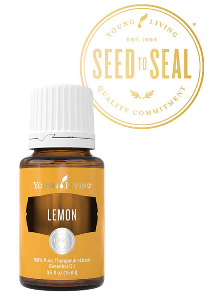 Lemon Young Living Essential Oil 15 ml bottle - Thrive Any Way
