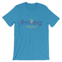 Thriving Vegan Short-Sleeve Unisex T-Shirt - Thrive Any Way