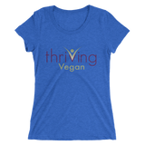 Thriving Vegan Ladies' short sleeve t-shirt - Thrive Any Way