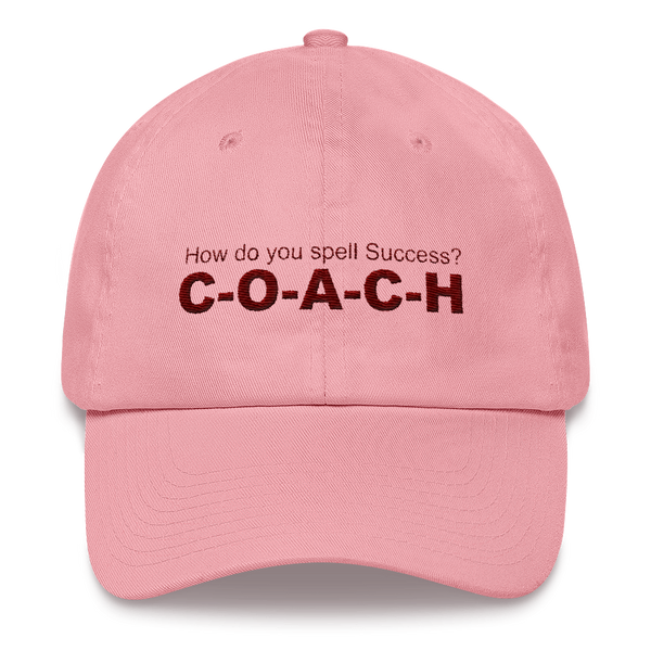 Mens and Womens Hat, How do you spell Success? 'C-O-A-C-H'