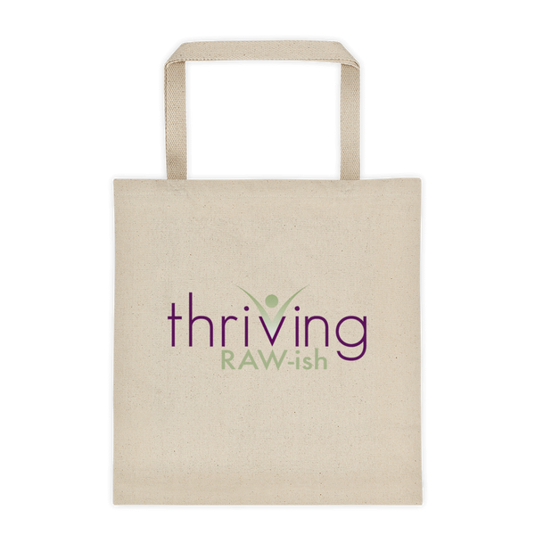 Thriving Raw-ish Cotton Tote bag - Thrive Any Way