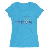 Licensed to Thrive, Ladies' short sleeve t-shirt - Thrive Any Way