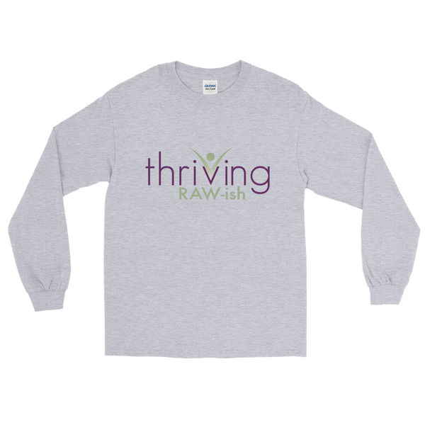 Thriving Raw-ish Mens Long Sleeve T-Shirt