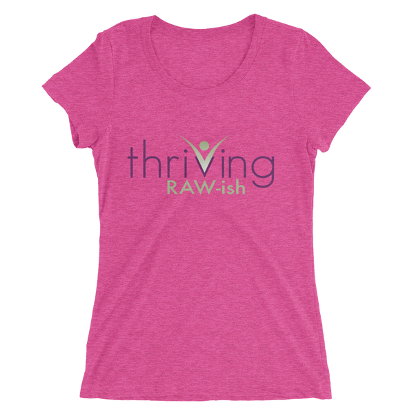 Thriving Raw-ish Ladies' short sleeve t-shirt