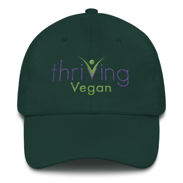 Thriving Vegan Mens and Womens Hat