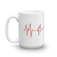 Heartbeat Pulse, Monitor (electrocardiogram) Mug - Thrive Any Way