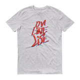 On Line Life - Men's Short-Sleeve T-Shirt - Thrive Any Way