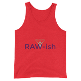 Kiss Me I'm Raw-ish Unisex  Tank Top - Thrive Any Way