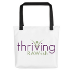 Thriving Raw-ish Tote bag - Thrive Any Way