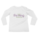 Thriving Raw-ish Ladies' Long Sleeve T-Shirt