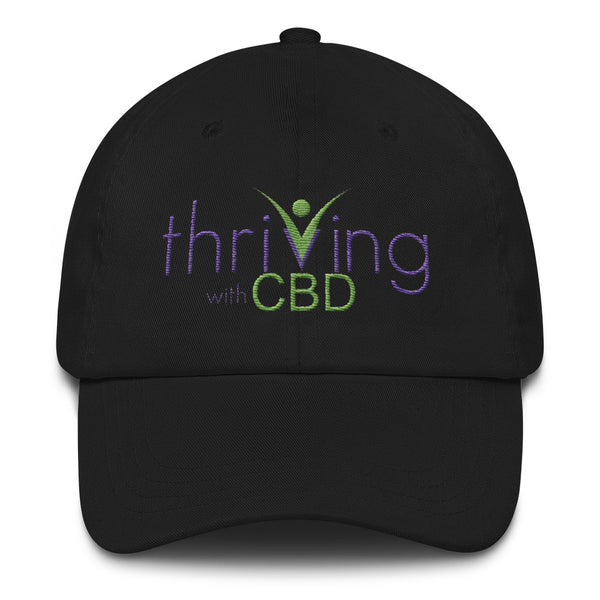 Thriving with CBD hat - Thrive Any Way