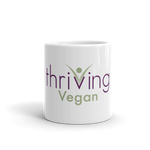 Thriving Vegan Ceramic Mug - Thrive Any Way