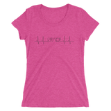 Peace Pulse Ladies' short sleeve t-shirt - Thrive Any Way