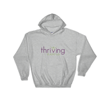 Thriving Raw-ish Mens and Womens Hooded Sweatshirt