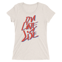 On Line Life Ladies' short sleeve t-shirt - Thrive Any Way