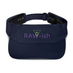 Kiss Me I'm Raw-ish Unisex Visor - Thrive Any Way