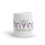 Thriving Raw-ish Ceramic Mug