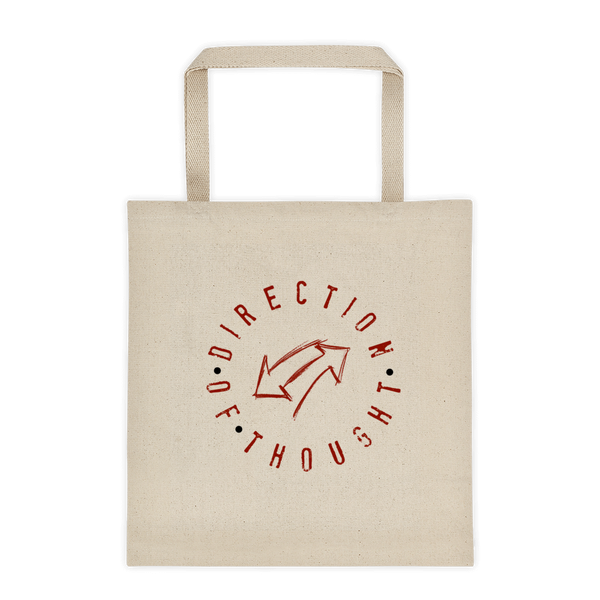 Direction of Thought Tote Bag - Thrive Any Way