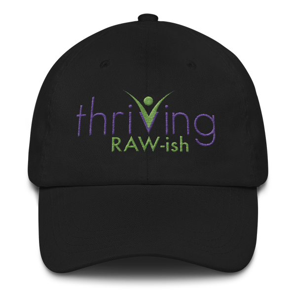 Thriving Raw-ish Mens and Womens Hat - Thrive Any Way