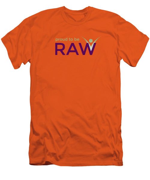 Proud To Be Raw - Men's T-Shirt (Athletic Fit) - Thrive Any Way