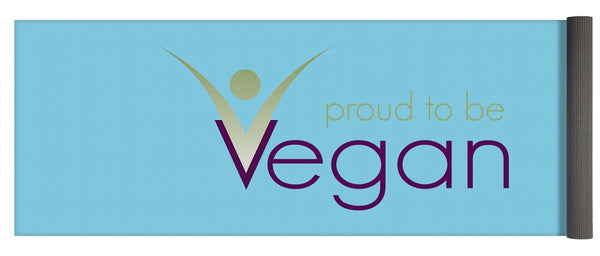 Proud To Be Vegan - Yoga Mat - Thrive Any Way