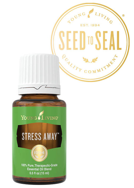 Stress Away Young Living Essential Oil 15 ml bottle - Thrive Any Way