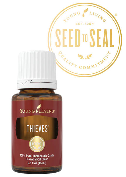 Thieves Young Living Essential Oil 15 ml bottle - Thrive Any Way