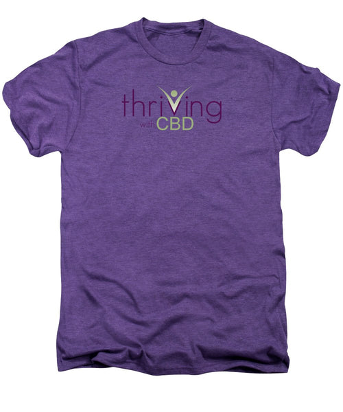 Thriving With CBD - Men's Premium T-Shirt - Thrive Any Way
