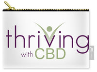 Thriving With CBD - Carry-All Pouch - Thrive Any Way