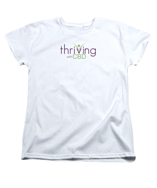 Thriving With CBD - Women's T-Shirt (Standard Fit)