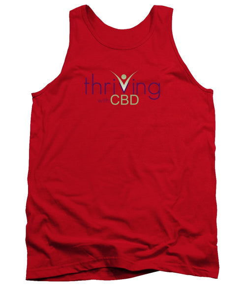 Thriving With CBD - Tank Top - Thrive Any Way