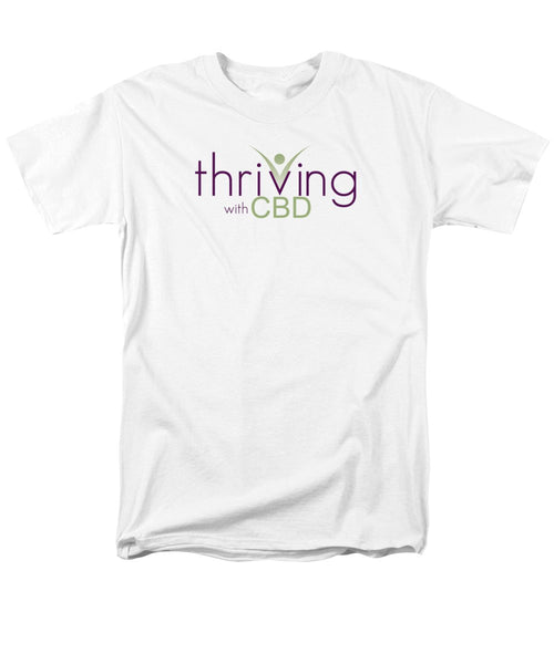 Thriving With CBD - Men's T-Shirt (Regular Fit) - Thrive Any Way