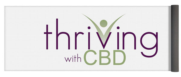 Thriving With CBD - Yoga Mat
