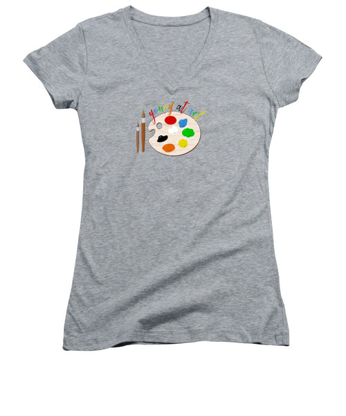 Young At Art - Women's V-Neck - Thrive Any Way