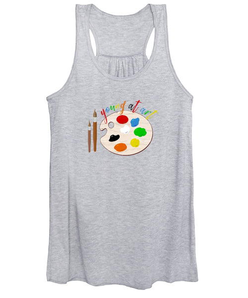 Young At Art - Women's Tank Top - Thrive Any Way