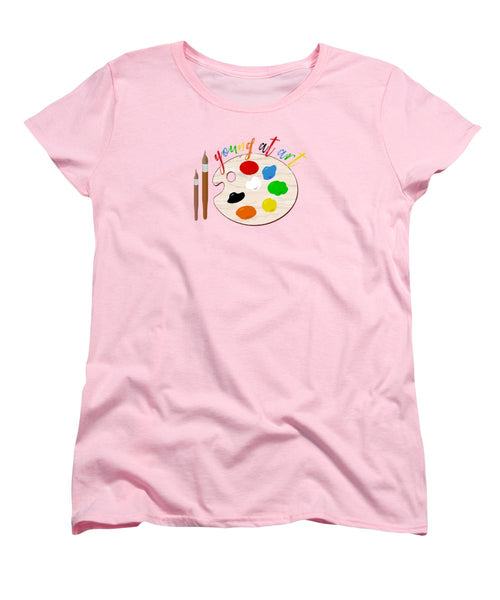 Young At Art - Women's T-Shirt (Standard Fit) - Thrive Any Way