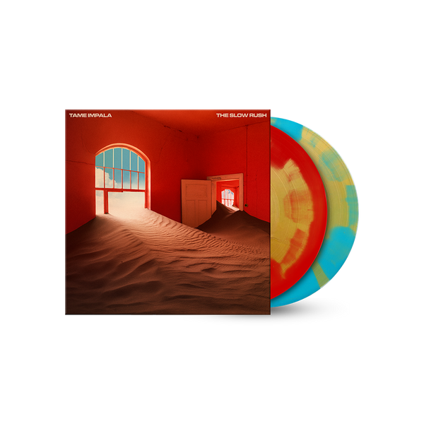 The Slow Rush Exclusive Color Splatter 2lp Tame Impala