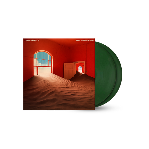 The Slow Rush Forest Green 2LP