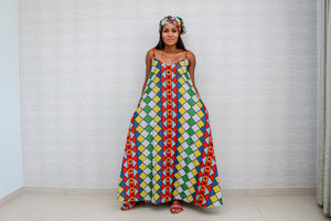 Zethu Long Max Chill Dress