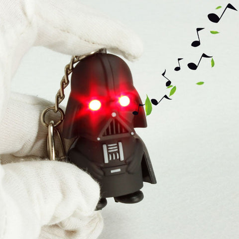 Darth Vader Keychain w/Flashlight & Sound