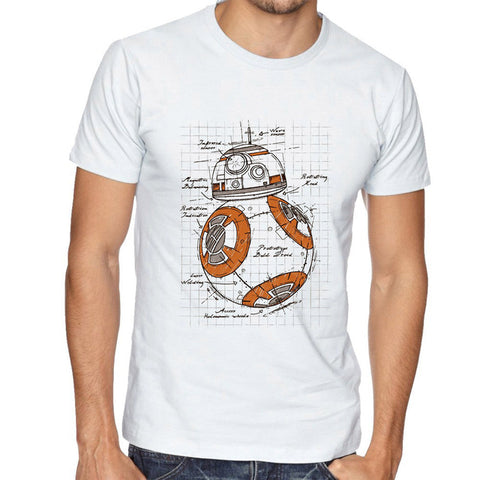 BB-8 Mechanical Scheme - Shirt