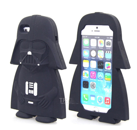 Star Wars - Silicone Phone Case for Iphone - Darth Vader / Yoda / R2-D2 / Stormtrooper / Darth Maul