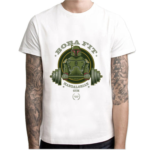 Boba Fett Gym - Shirt