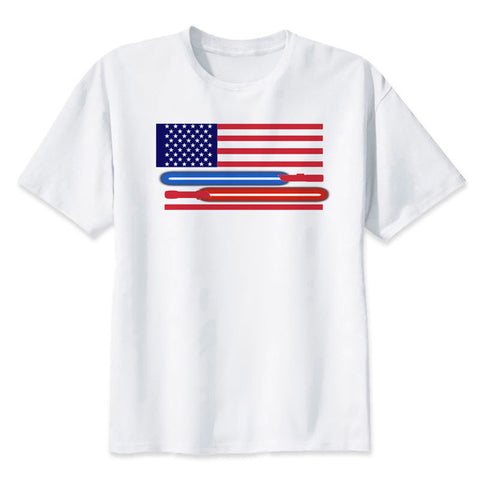 USA Lightsaber Flag - Shirt
