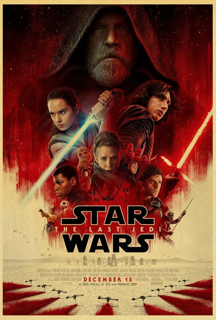 Last Jedi Posters/Wallpapers