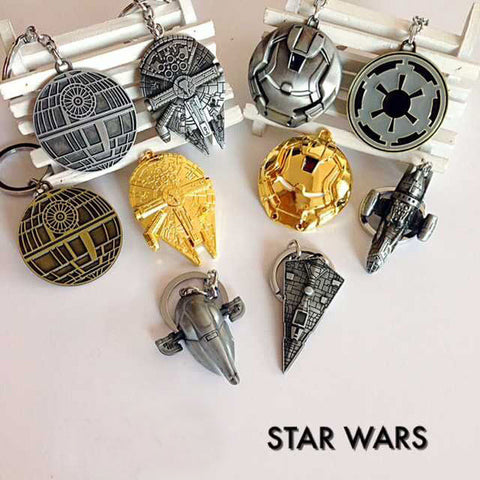Star Wars / Spaceships / Jedi order - Metallic Keychain