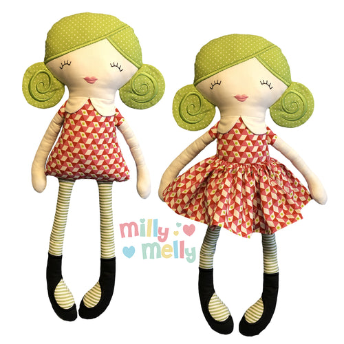 Doll ISABELLA millymellydesigns